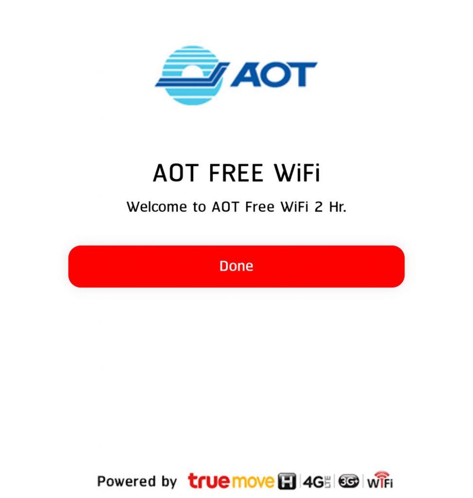 free airport wifi bangkok