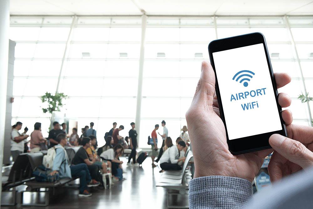 free aiport hotspots wifi